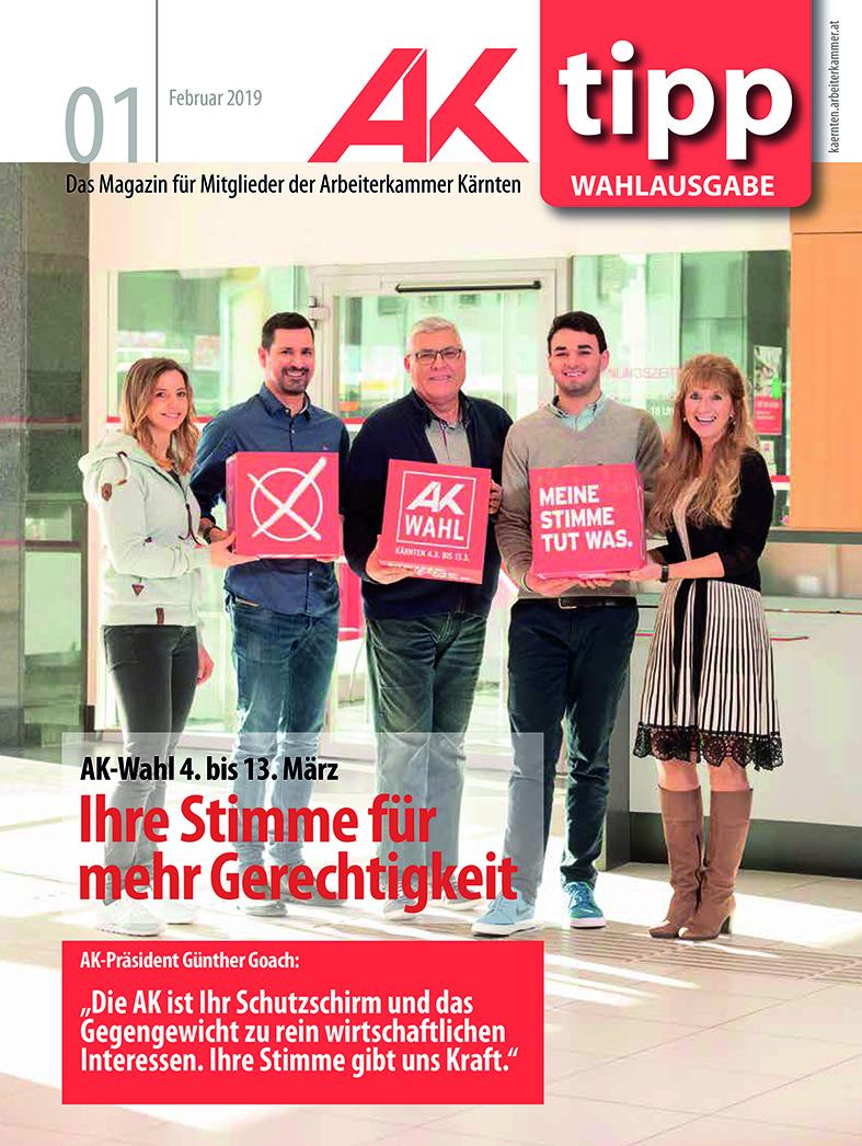 Coverfoto für Arbeiterkammer Kärnten